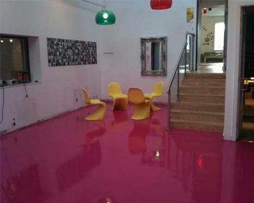 Seamless Poured Resin Flooring Polished Concrete Flooring