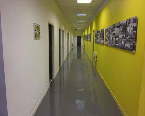 ... Seamless Epoxy Poured Liquid Resin Floors Office Flooring Sedgfield  County Durham ...