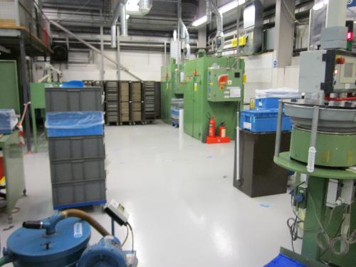 North Shields factory floor painting coatings Tyneside