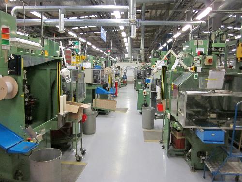 Industrial factory floor painting Washington Tyne Wear