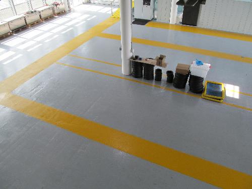 Epoxy garage floor painting London