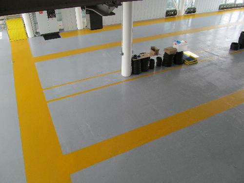 High build epoxy floor coatings London