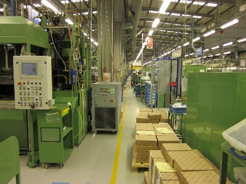 Industrial factory floor painting Stockton on Tees