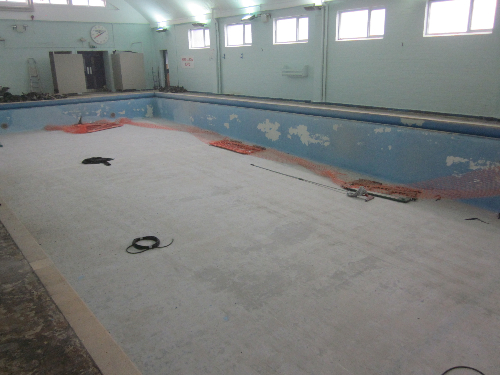 Swimming pool flooring north east england for Swimming pools in the north east