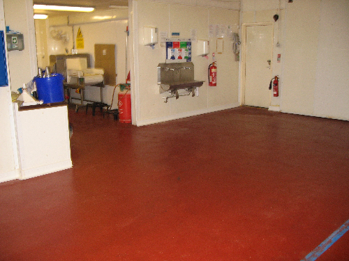 Food grade resin flooring Sunderland Tyne and Wear