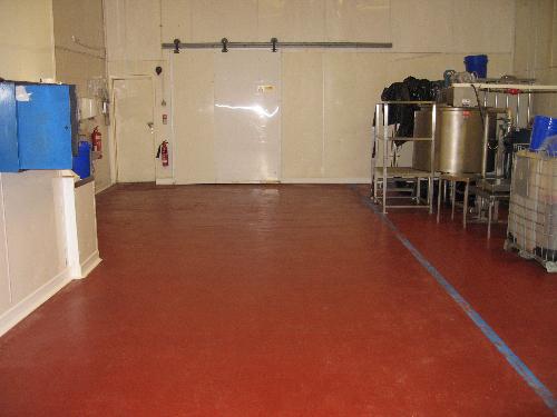 Industrial resin flooring Sunderland Tyne and Wear