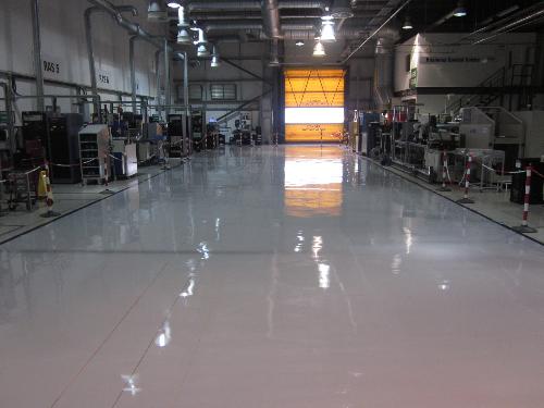 Seamless antistatic resin flooring north east England