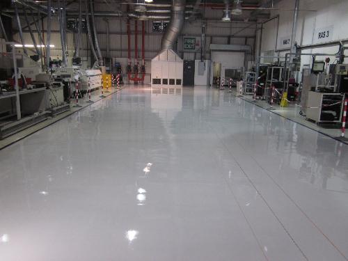 Industrial resin floors - Resin Flooring North East Ltd