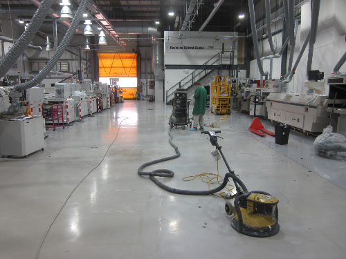 Dust Free Surface Preparation
