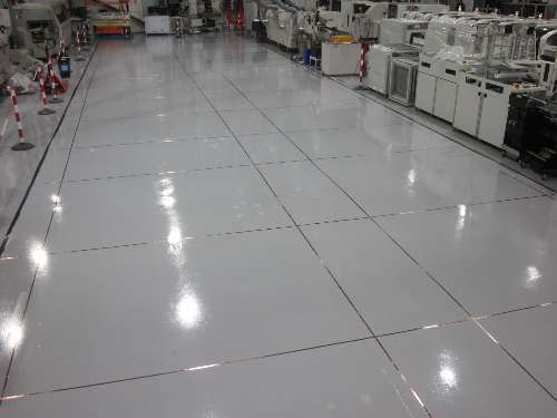 Conductive epoxy coatings floors North East