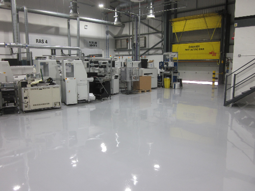 Specialist Industrial Resin Flooring North East England