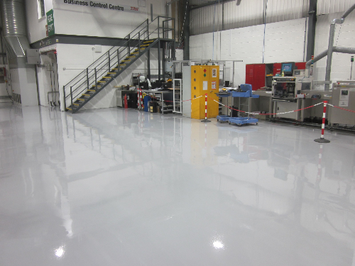 Industrial Factory Flooring County Durham England