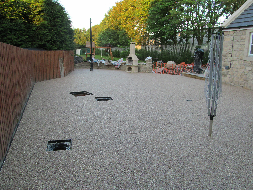 Commercial Resin Patio Sunderland North East England