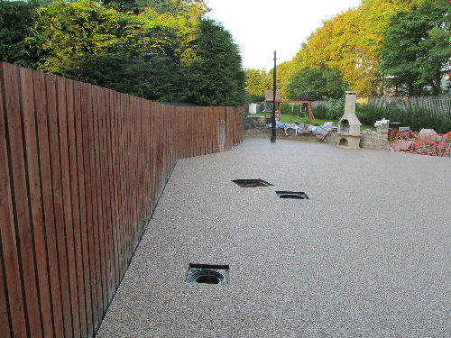 Resin bound surfacing Durham North East England