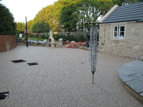 Gravel floor screeds London Gravel paving screeds
