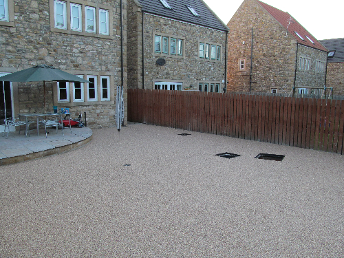 Permeable resin bound paving systems County Durham