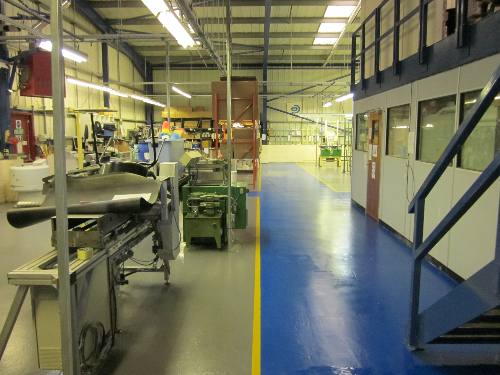 Industrial resin floor coatings Newcastle Upon Tyne