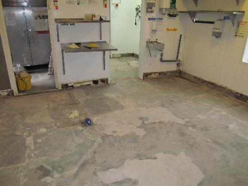 Commercial kitchen flooring Cramlington Northumberland
