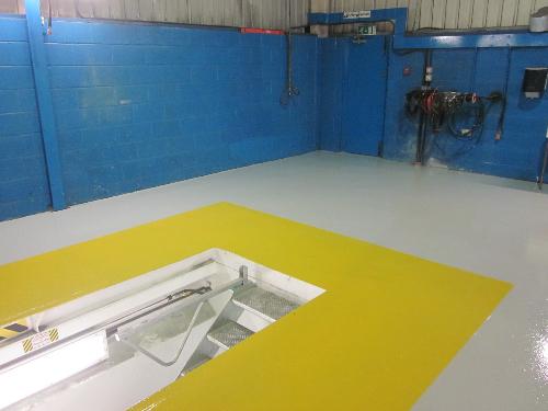 Floor painting Newcastle Upon Tyne garage flooring
