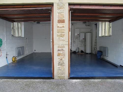 Flowable epoxy resin garage flooring Stockton on Tees