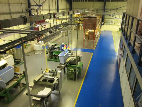 Factory floor coatings County Durham