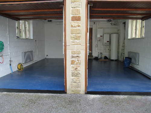 Garage resin floor coatings Stockton on Tees Cleveland