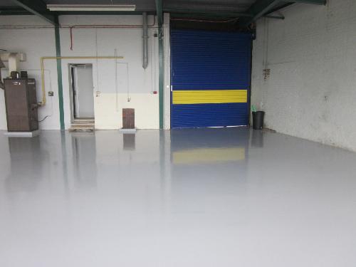 Epoxy concrete floor coatings surfaces Sunderland