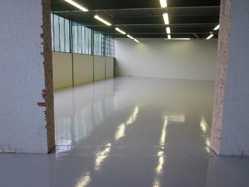 Factory floor painting Washington Tyne and Wear