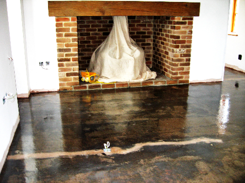 Resin interiors floor treatments North East England