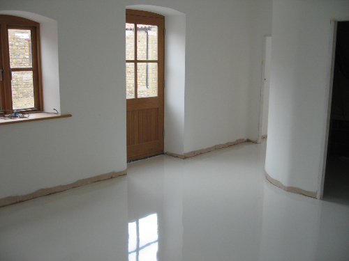 Poured resin flooring systems North East England