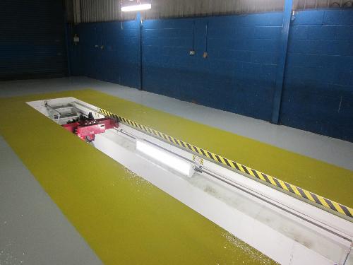 Concrete floor repairs Newcastle Upon Tyne resin floors