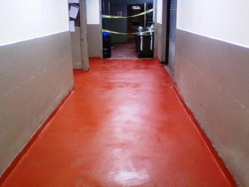 Heavy Duty Epoxy Flooring Services : Epoxy resin floor screeds flooring north east ltd