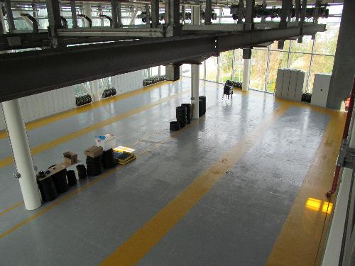 Seamless resin floors London