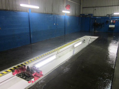 Prepared substrate primed with solvent free epoxy coat