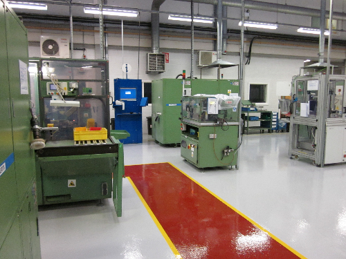 North Shields epoxy resin floors industrial flooring