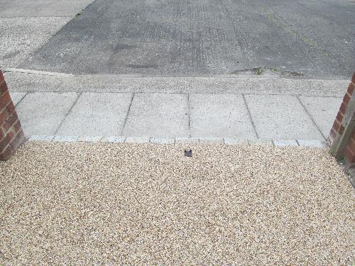 Resin bound gravel surfaces South Tyneside
