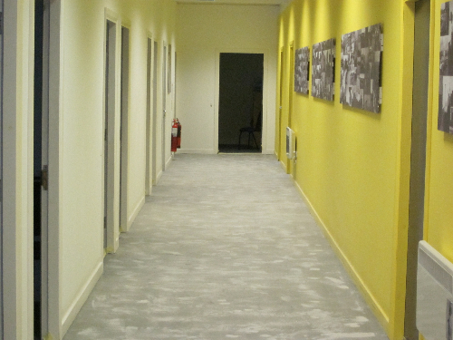 Dust free concrete floor grinding County Durham