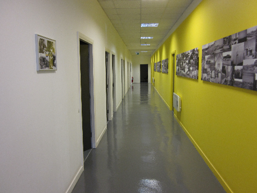 Flowable epoxy resin flooring County Durham offices