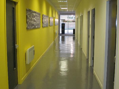 Commercial resin flooring epoxy floors Northumberland