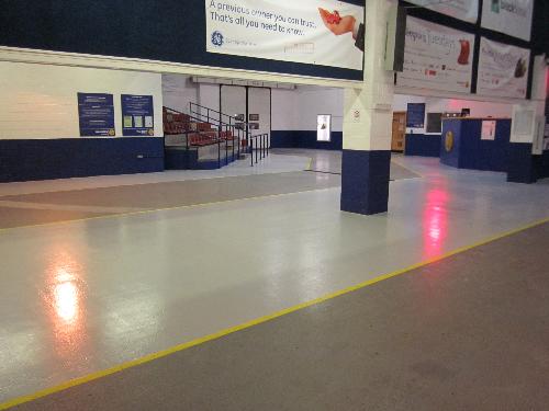 Decorative epoxy resin floors Durham Sunderland