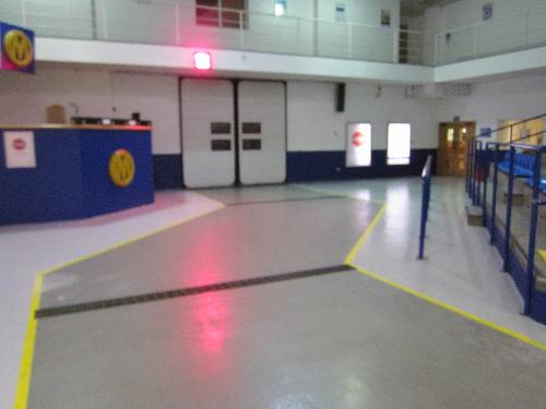 Industrial Garage Epoxy Resin Floor Coatings North East