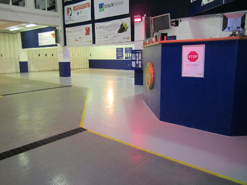 Industrial epoxy flooring Newcastle Upon Tyne