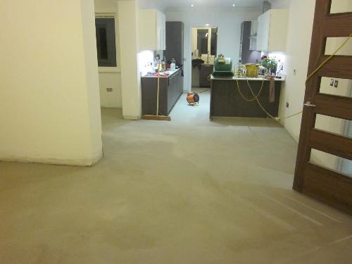Micro screed domestic concrete flooring Durham
