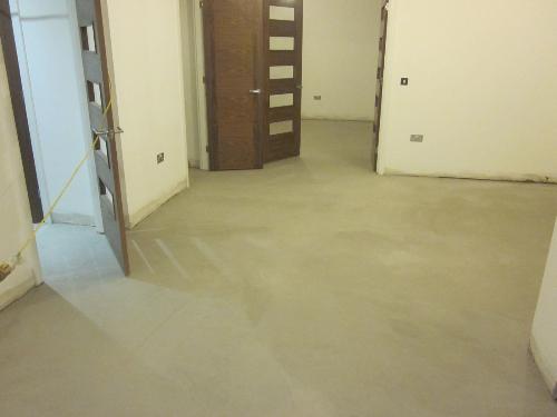 Solacir micro screed waxed concrete floors Durham