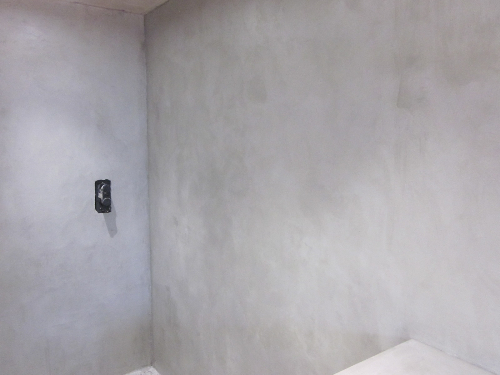 Microscreed concrete wall surfaces Newcastle Upon Tyne