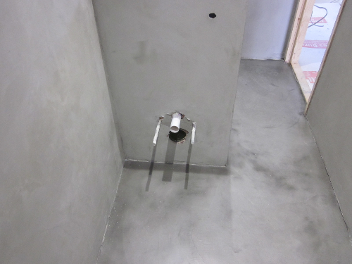 Solacir microscreed decorative concrete floor Newcastle