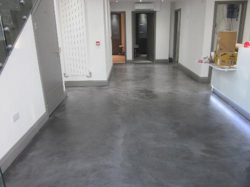 Solacir microscreed flooring installation Cumbria