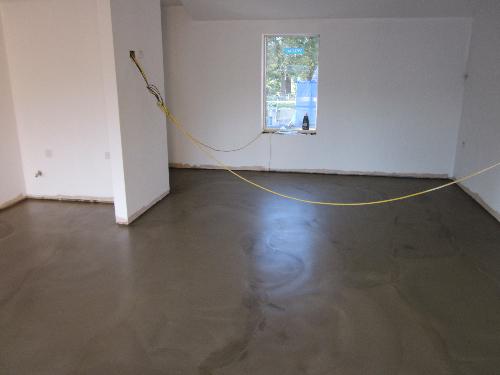 Solacir polished concrete floors North East England