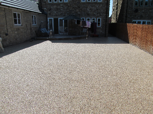 Resin driveways Durham North East of England
