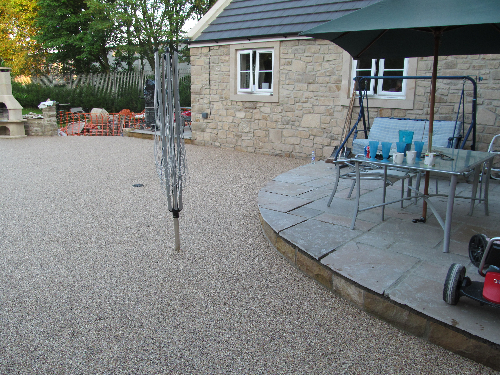 Domestic resin driveways pathways patio surfaces Durham